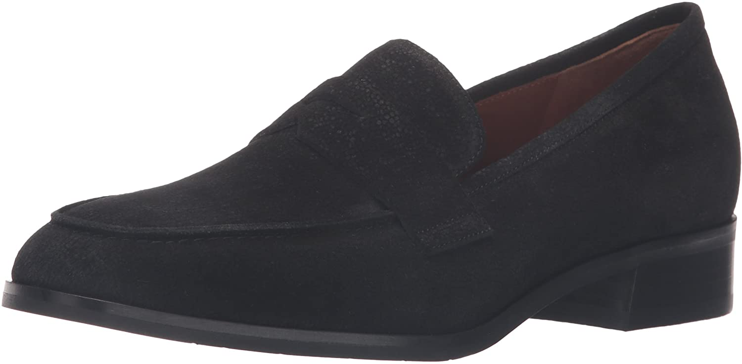 Aquatalia Women's Sharon Pebbled Suede Slip-On Loafer