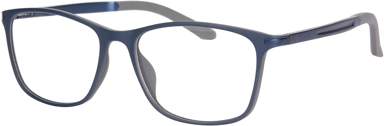 SHINU TR90 Progressive Multifocus Reading Glasses Multiple Focus Eyewear-SH031(bule and grey-anti blue up+0.75, down+3.25)