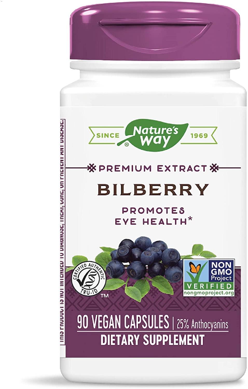 Nature's Way Bilberry, 90 Capsules