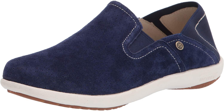 Spenco womens Convertible Slip-on Sneaker, Patriot Blue, 5 US