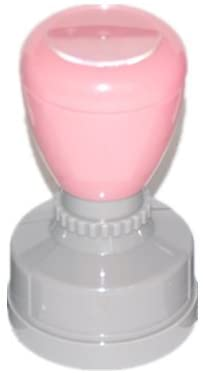 Gacho Rubber Stamp Teacher Review Stamp- Pink