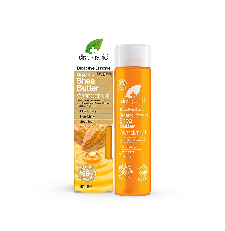 Dr Organic Shea Butter Wonder Oil 150ml