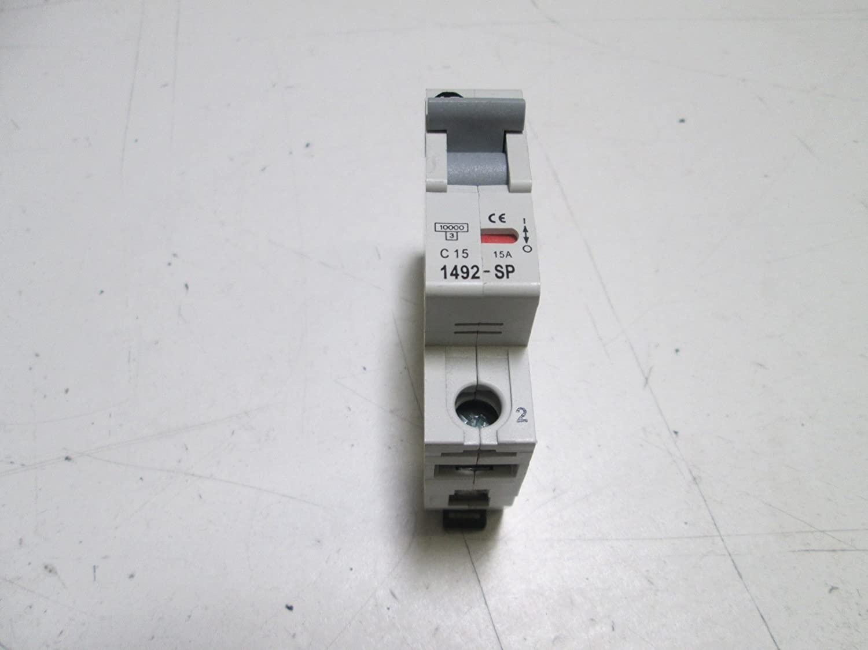 Allen Bradley 1492-Sp1c150 Series C, Miniature Circuit Breaker 1 Pole 1492-Sp1c150 Series C
