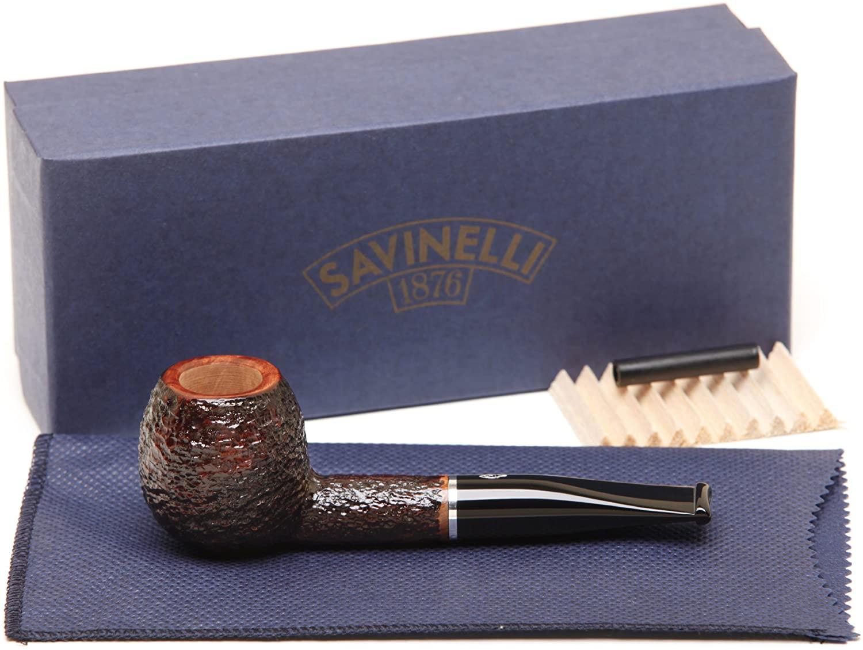 Savinelli Pocket Brownblast 202 Tobacco Pipe