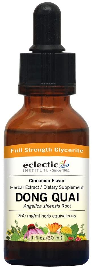 Dong Quai-Cinnamon No Alcohol Glycerite Eclectic Institute 1 oz Liquid