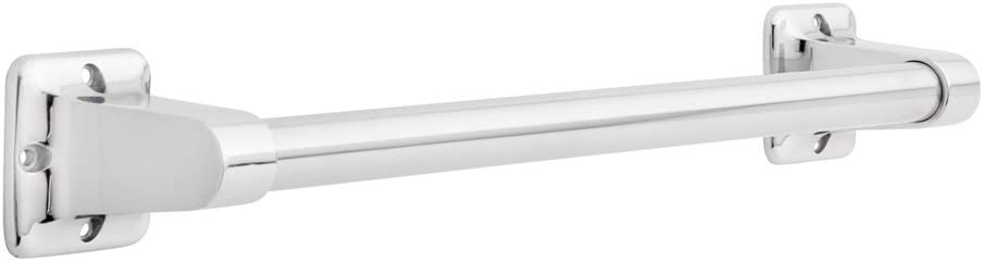 Safety First S1F516PC Exposed Mounting Residential Assist Bar, Polished Chrome, 16-Inch by 7/8-Inch