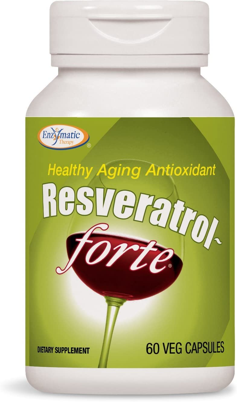 Enzymatic Therapy Resveratrol-Forte® 125 mg