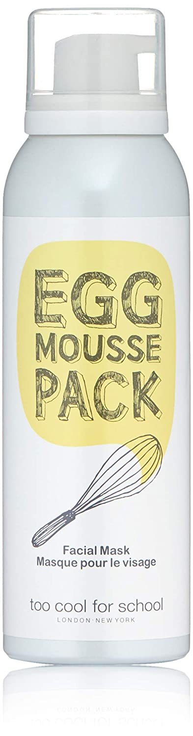 Too Cool For School Egg Mousse Pack, 3.38 Fl Oz