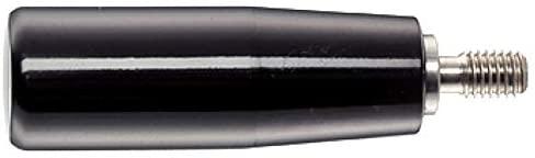 Halder 24530.0260Cylinder Handles, Black, D1= 28mm d2= M10/Stainless Steel