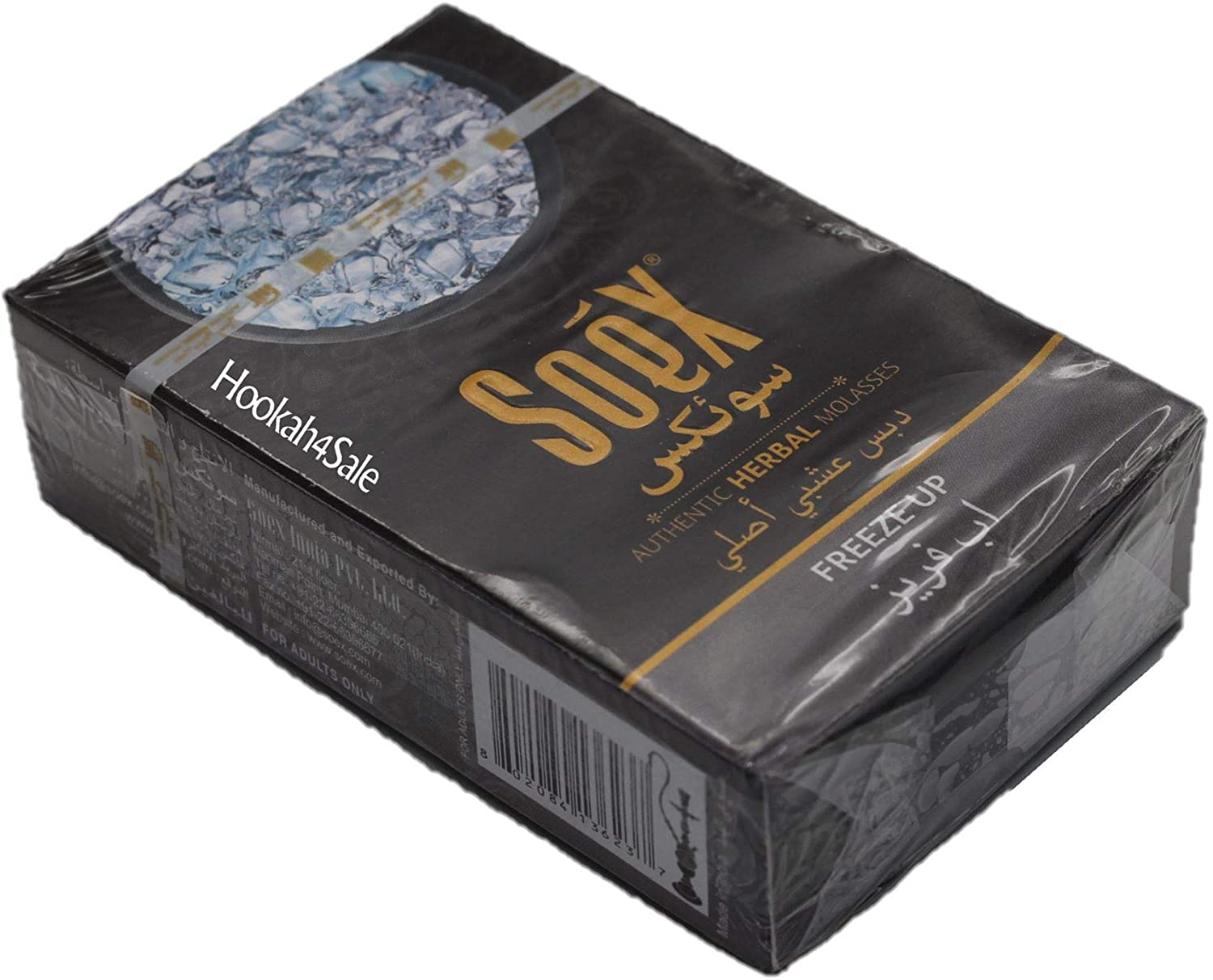 Soex Freeze Up Herbal Shisha Molasses for Hookah Pipe Narguile 50 gr