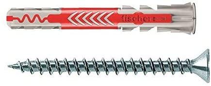 fischer 538246 DUOPOWER 8x65 S, Grey/red