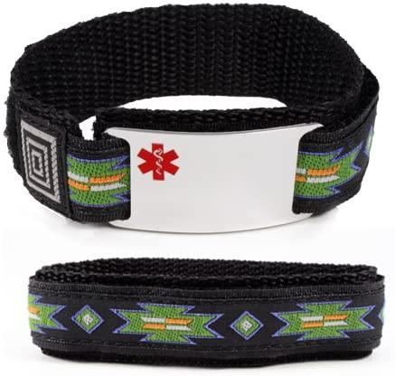 Taking OTEZLA Medical ID Alert Bracelet with Safary Adjustable Wristband.