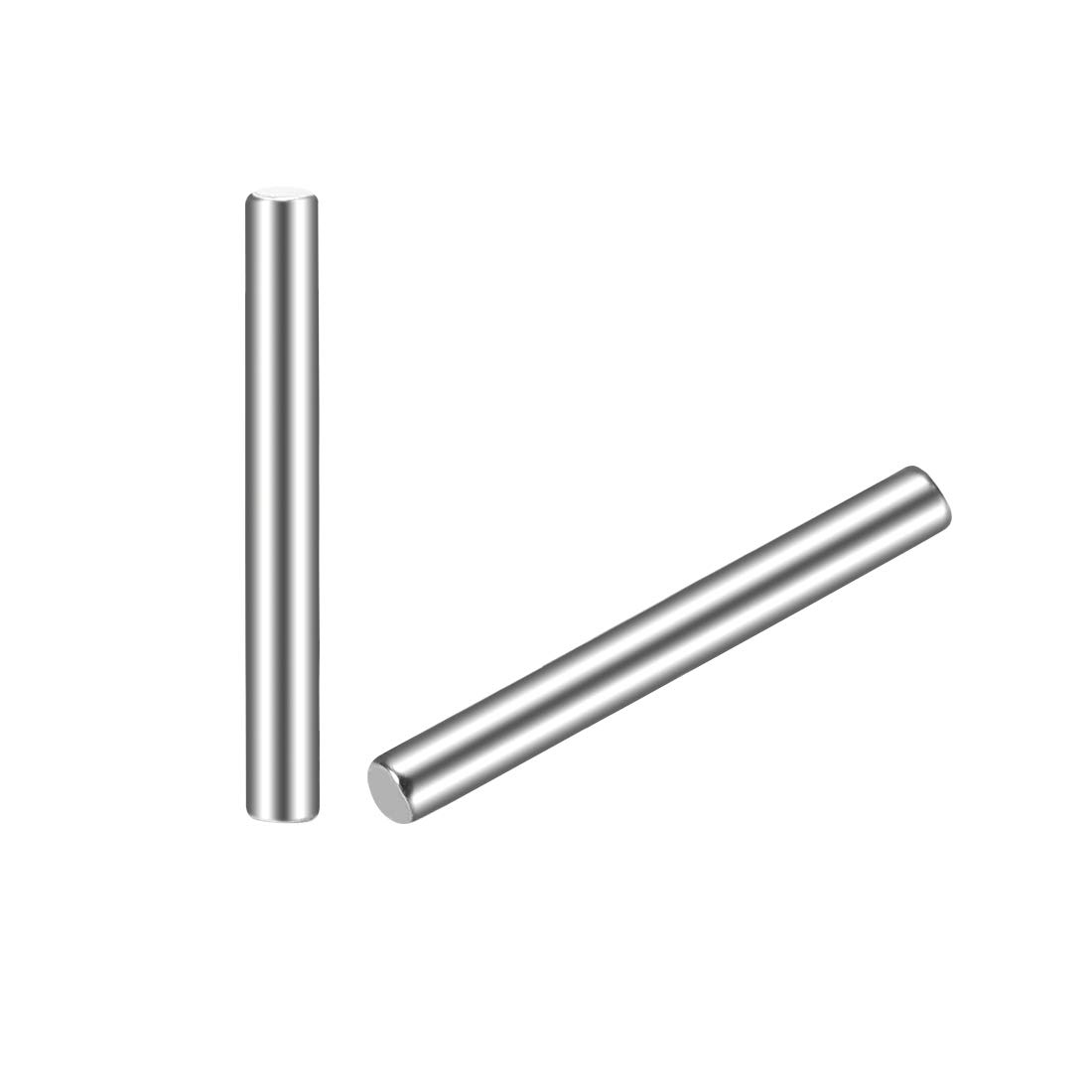 uxcell 2 x 18mm(Approx 5/64) Dowel Pin 304 Stainless Steel Wood Bunk Bed Dowel Pins Shelf Pegs Support Shelves 20Pcs
