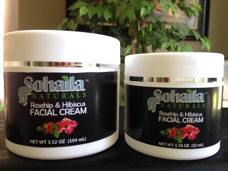 Sohaila Naturals Rosehip & Hibiscus Facial Cream (3.52)