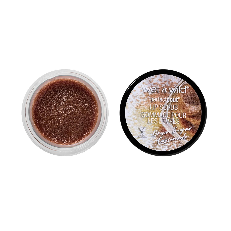 wet n wild Perfect Pout Lip Scrub, Brown Sugar Cassonade, 0.35 Ounce