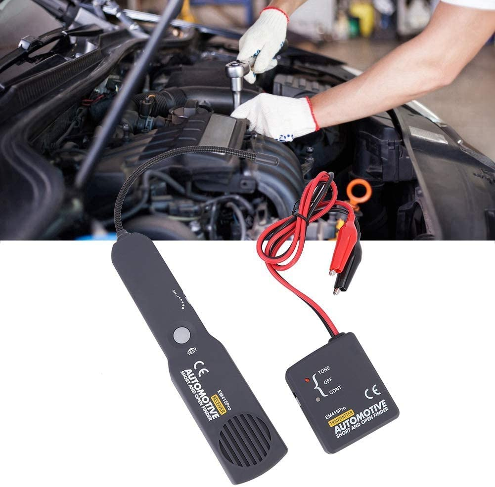 Instant Car Circuit Scanner,Automotive Cable Wire Tracking Finder Detector Tool Accurate Short Open Circuit Finder Tracer