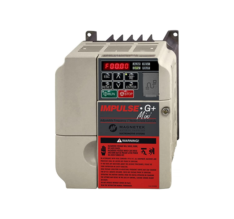 Magnetek IMPULSE G+ Mini VFD, 9.2FLA, 5HP, 460VAC, Part No. 4009-G+M