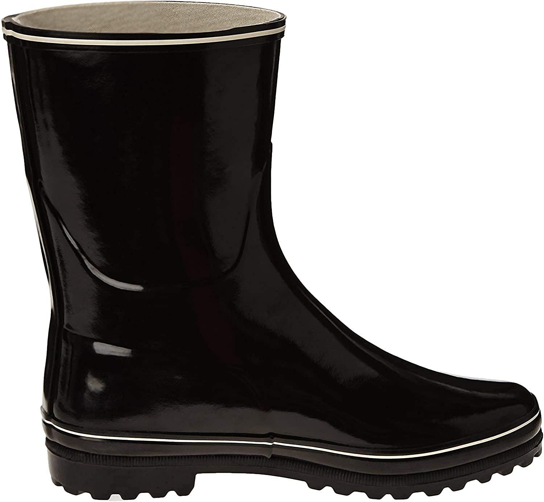 Aigle Womens Venise Bottillon Wellington Boots, Black (Black), 5.5 UK