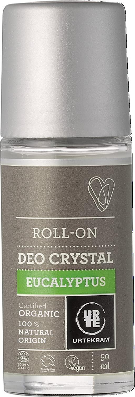 Urtekram Crystal Deodorant Roll On Eucaluptus 50ml. Organic