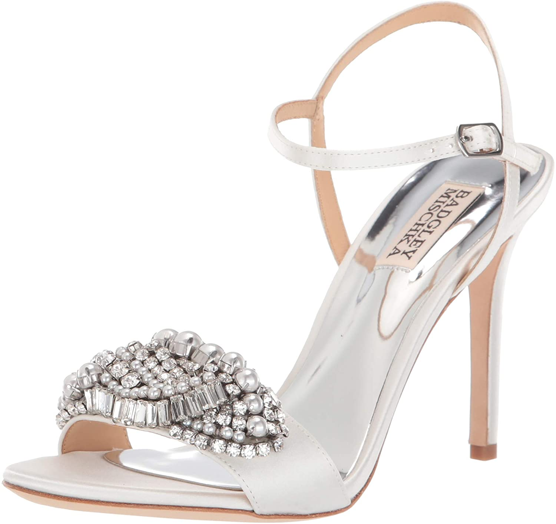 Badgley Mischka Womens Odelia Heeled Sandal