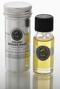 Organic Ginger Essential Oil (Zingiber officinale) (100 litres (£215.46/litre)) by NHR Organic Oils