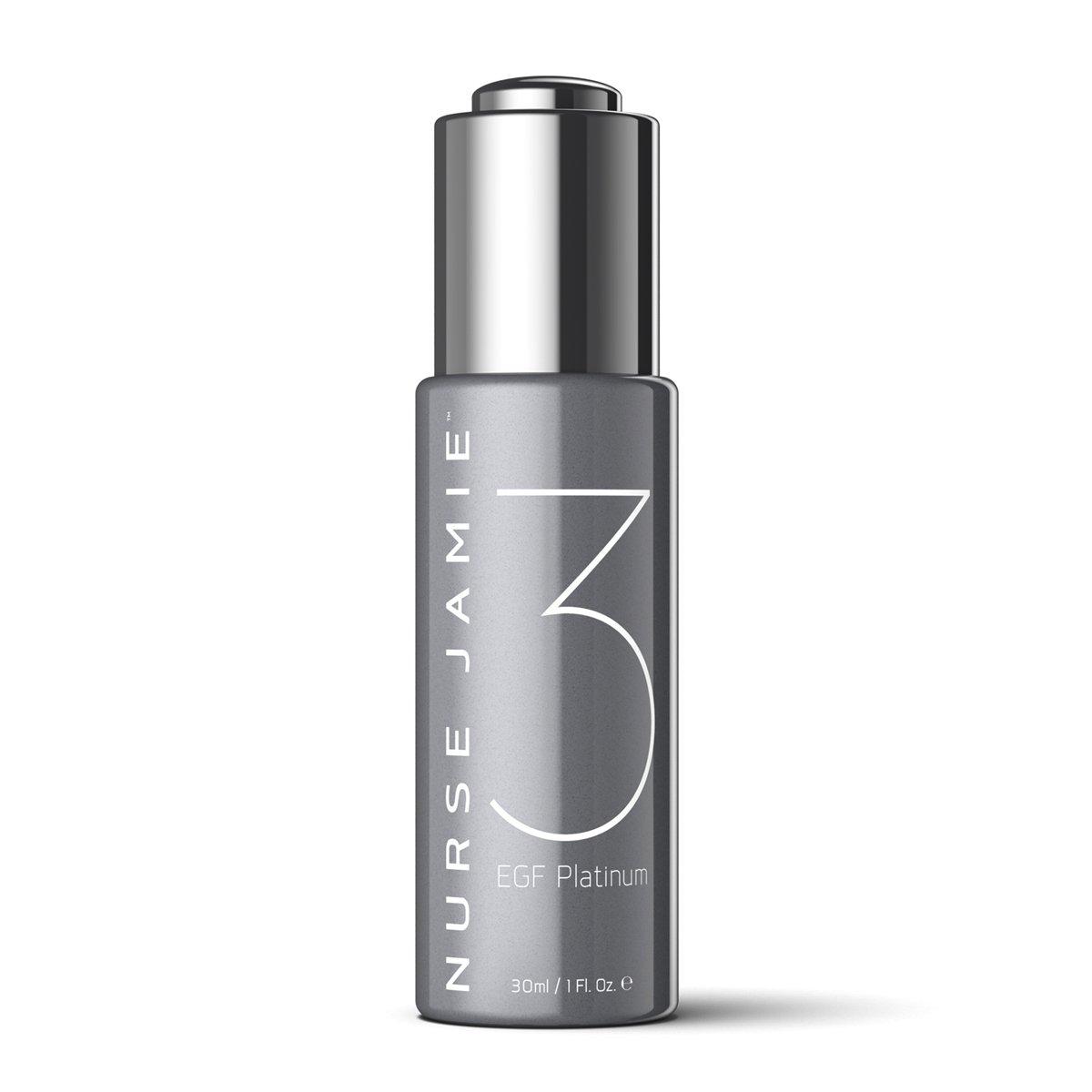 Nurse Jamie EGF Platinum 3 Restorative Facial Elixir, 1 Fl oz