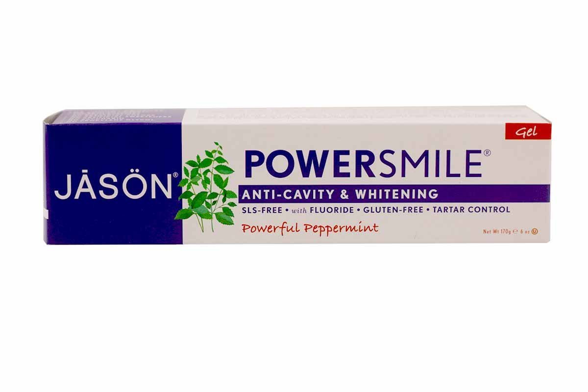 Toothpaste Power Smile + CoQ10 6 OZ,Pack of 2