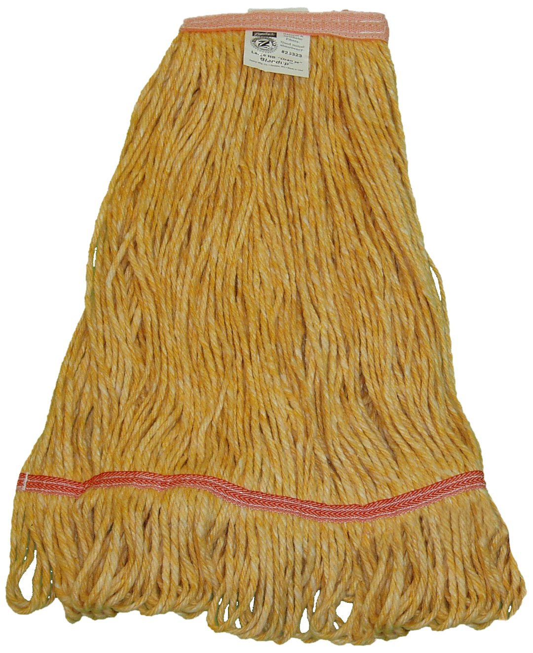 Zephyr 26324 Blendup Orange Blended Natural and Synthetic Fibers X-Large Loop Mop Head with 1-1/4
