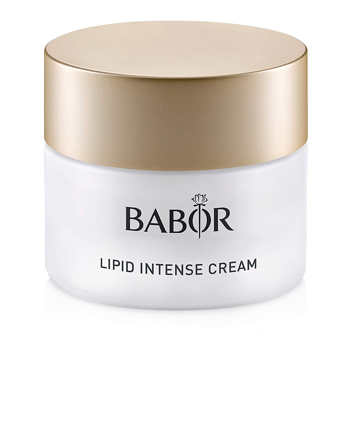 BABOR Lipid Intense Cream, Moisturizing Hyaluronic Acid Face Treatment, Evens Skin Tone and Restores Protective Skin Barrier, Paraben Free
