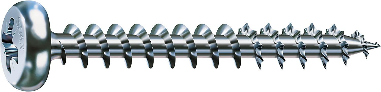 SPAX Screws Pan-Head-Z, 5 x 70 mm, Electrogalvanized, 200 pcs