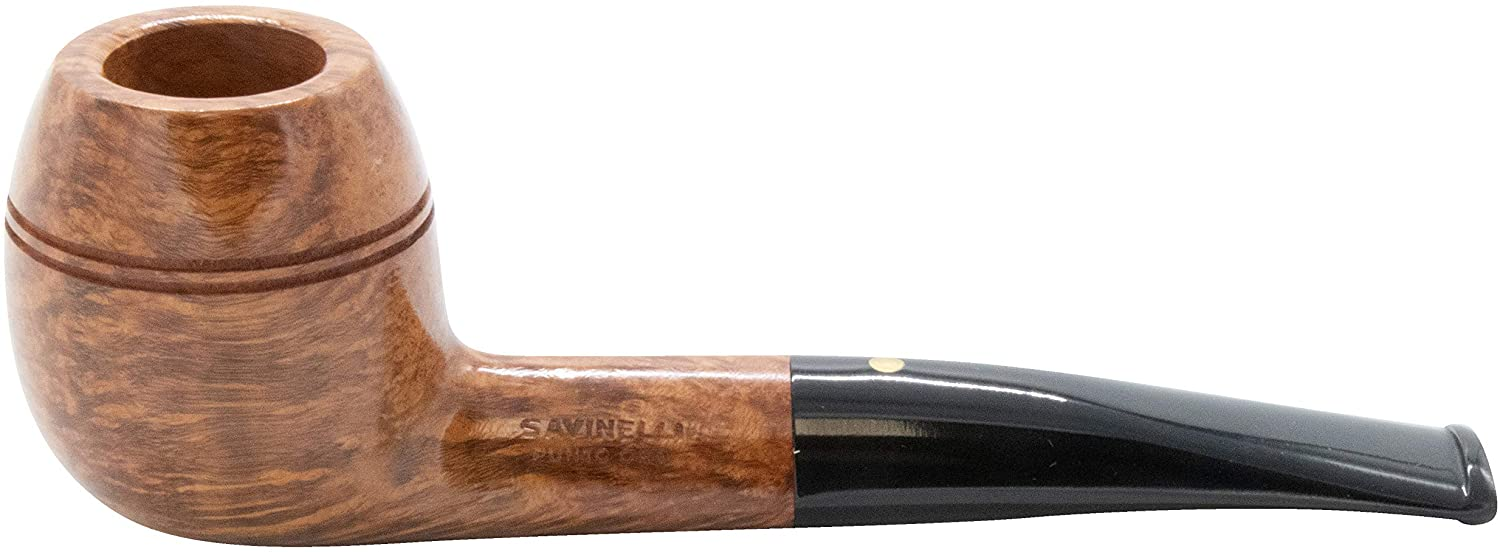 Savinelli Punto Oro Smooth Natural 173 Tobacco Pipe 9680
