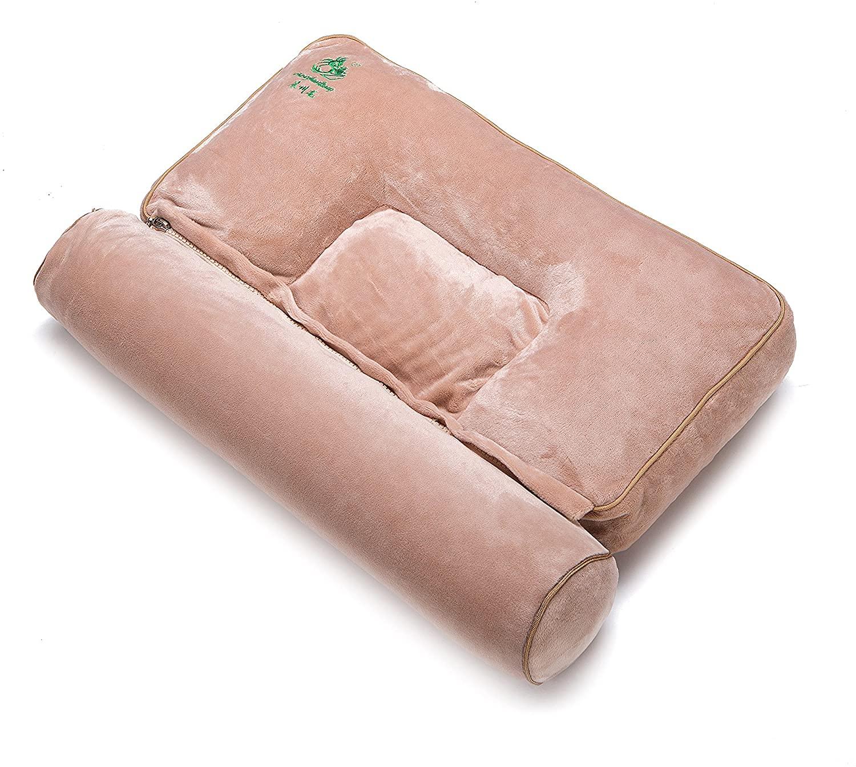 Multifunctional Cervical Vertebra-Friendly Pillow (Khaki)