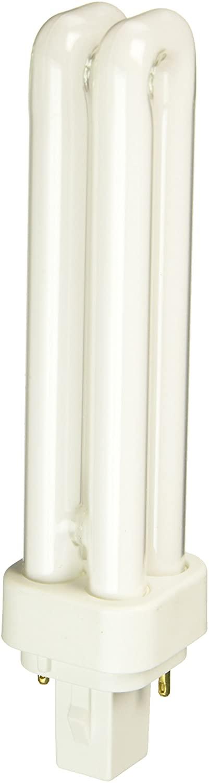 Eiko QT18/41 18W Quad-Tube 4100K G24D2 Base Fluorescent Halogen Bulbs