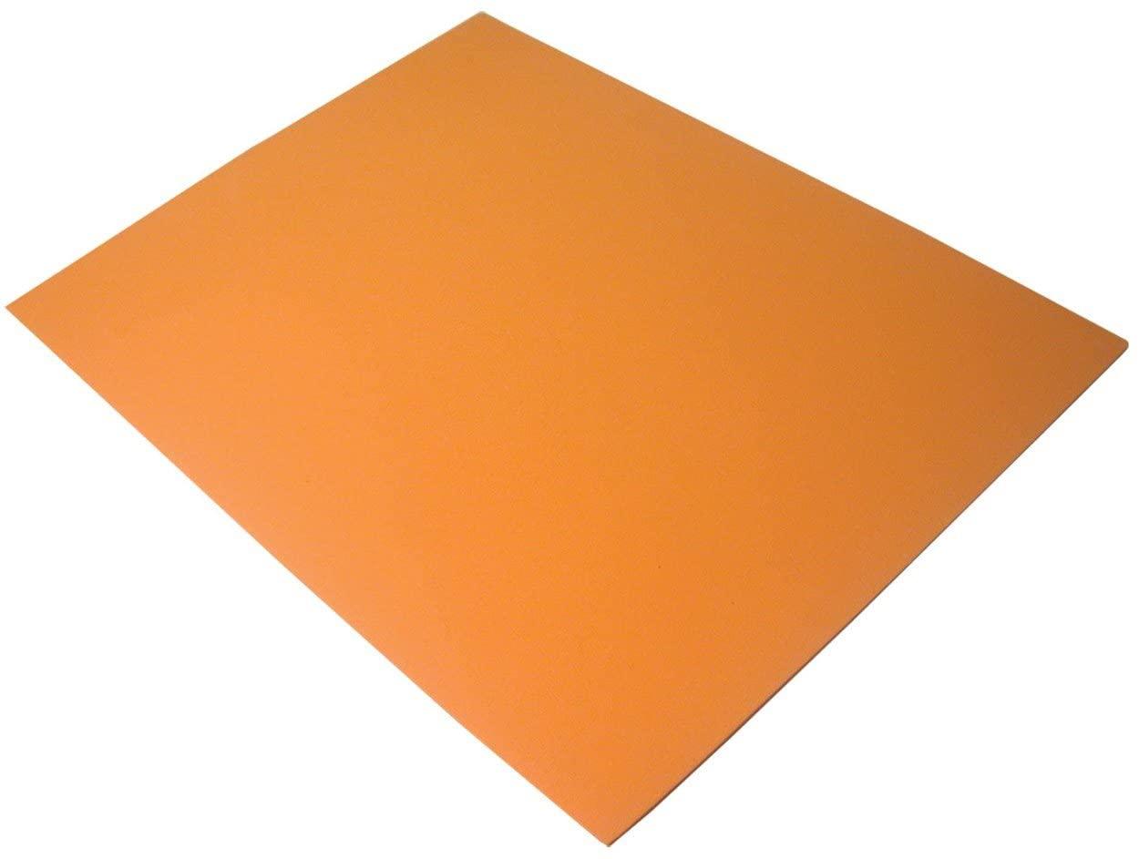 Non-Slip Pad with Adhesive Bottom - Orange