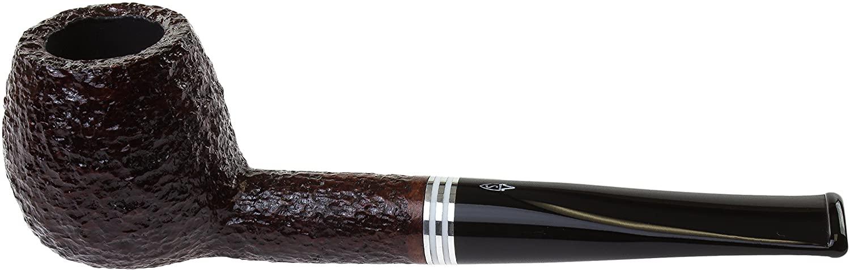 Savinelli Bianca 207 Tobacco Pipe - Rusticated