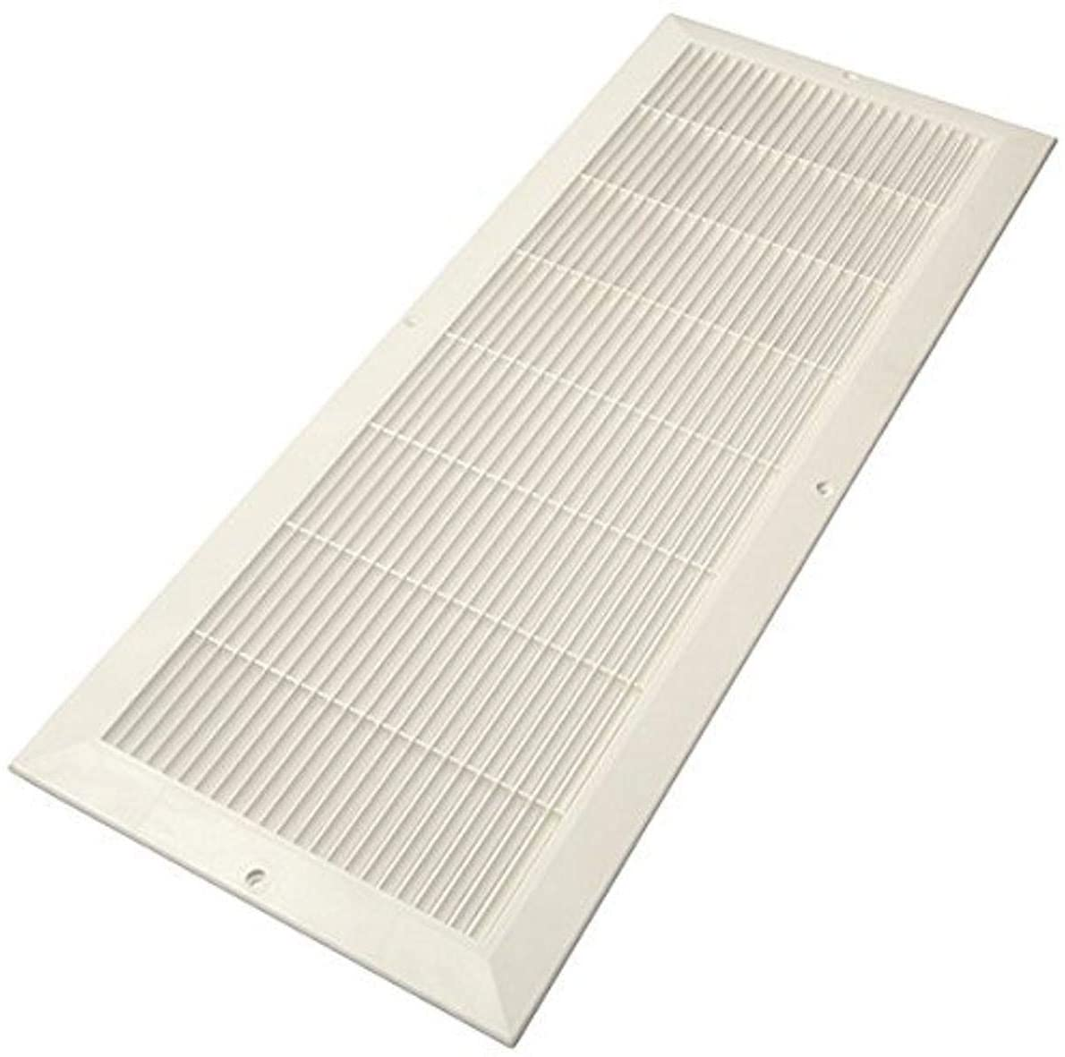 Decor Grates PL824-WH 8-Inch by 24-Inch Cold Air Return, White