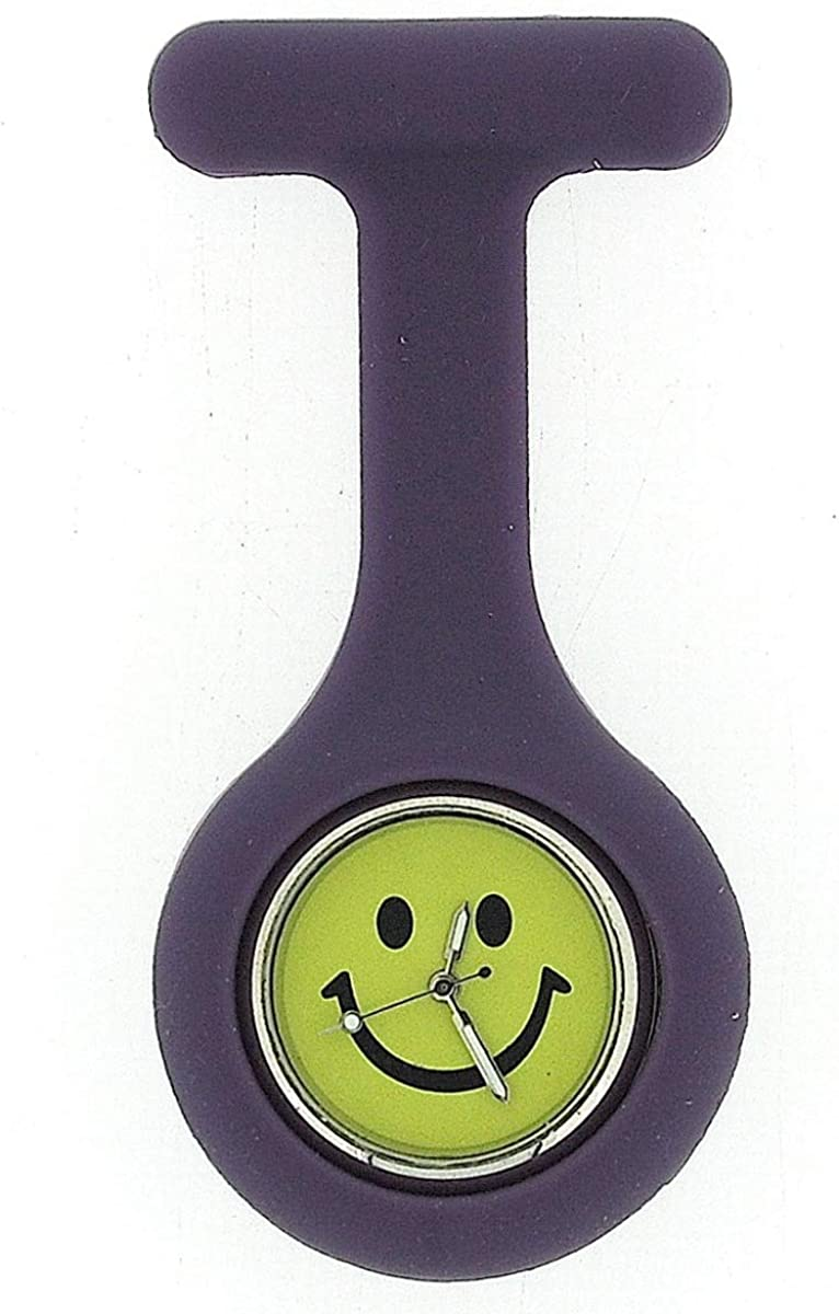 Boxx Purple Smiley Face Infection Control Gel Professional Fob Watch Boxx102