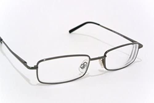NEARSIGHTED READING GLASSES distance myopia GUNMETAL FRAME minus power -3.00