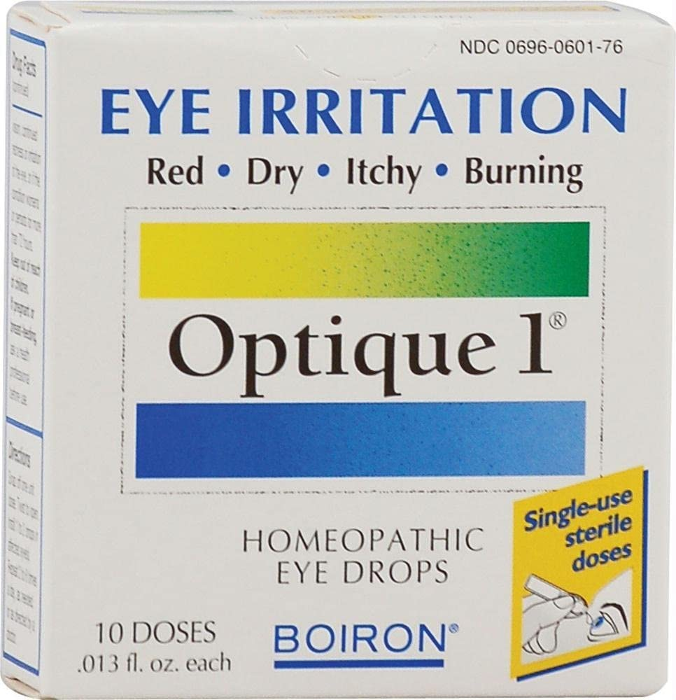 Boiron Optique 1 Minor Eye Irritation Drops - 10 Doses