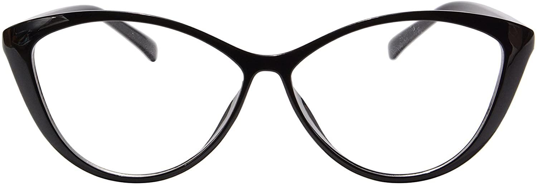 SHINU Womens Frame TR90 Customized Progressive Multifocus Computer Reading Glasses-M5865