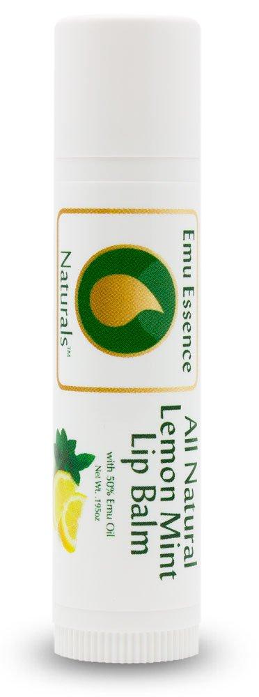 Emu Essence Natural Lemon Mint Lip Balm with Emu Oil