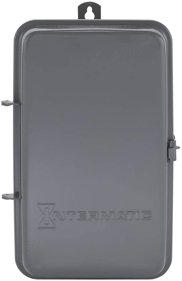 Intermatic T1471BR 4PST 24 Hour 125-Volt Time Switch with 3R Steel Case, Color
