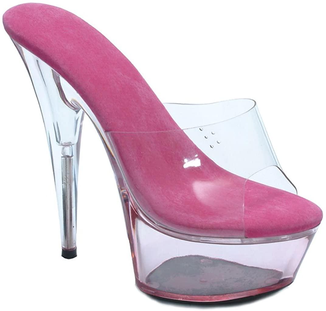 Ellie Shoes Womens 609-SUMMER 6 Pointed Stiletto Platform Mule