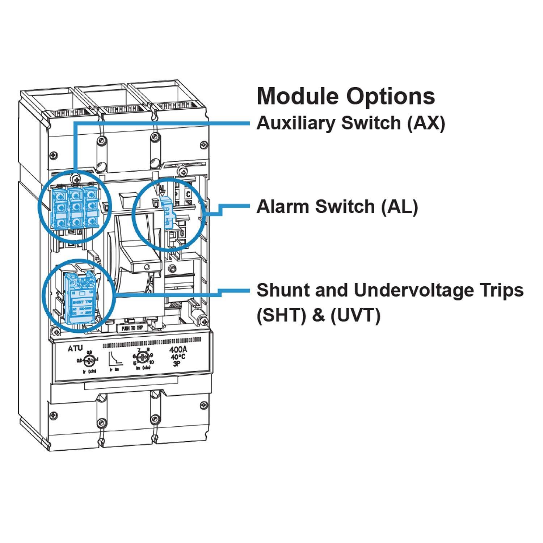 ASI SHT-5-100 MCCB Shunt Trip Module