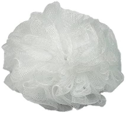 Body Benefits Net Bath Sponge, White, 1 ea