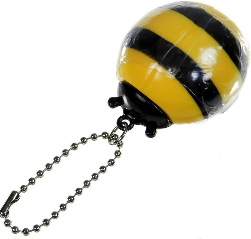 Honey Bee Lip Gloss with Chain