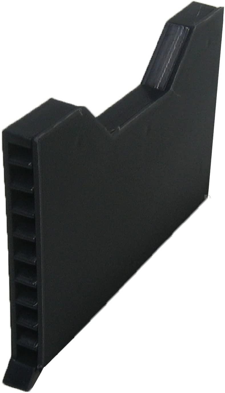 50 x Brick Weep Vents Blue / Black Ventilation Cavity Wall Vent Garden Wall