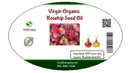Organic Rosehip (Rose Hip) Seed Oil - 100% Pure 120 ml (4Oz) by SaaQin