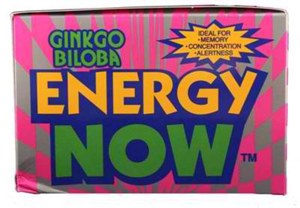 Energy Now Ginkgo Biloba Herbal Supplement 24/3Tabs