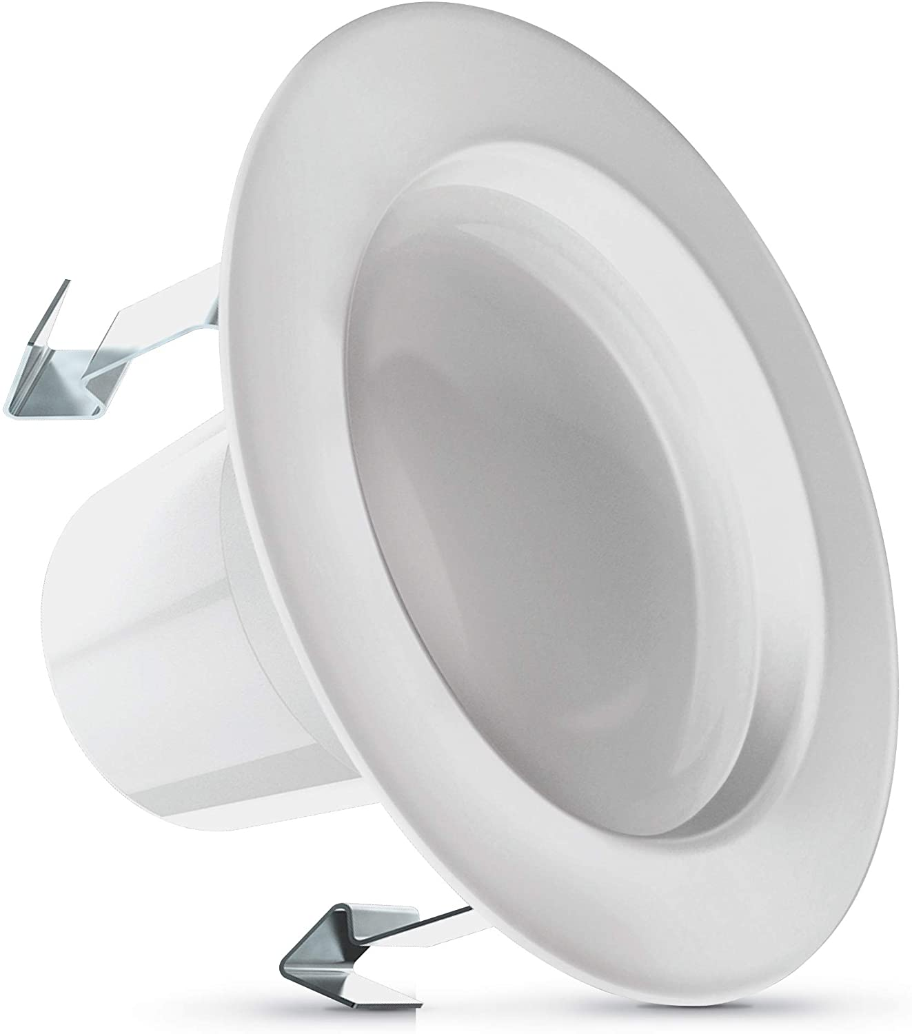 Feit LEDR4HO/6WYCA 75-Watt Equivalent Color Select (2700/3000/3500/4000/5000) Dimmable Recessed Downlight (1-Pack)